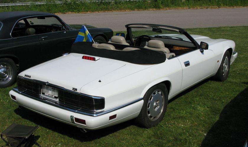 1996 Jaguar Facelift (post-1991) XJS convertible note revised rear lights