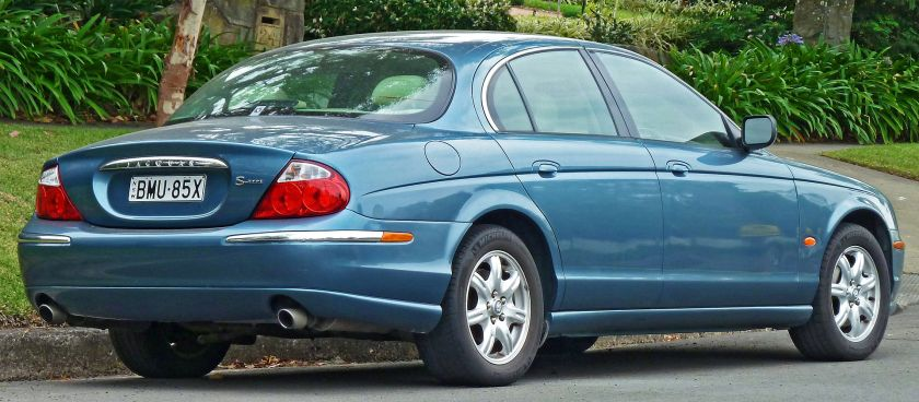 1999–2004 Jaguar S-Type sedan (Australia)