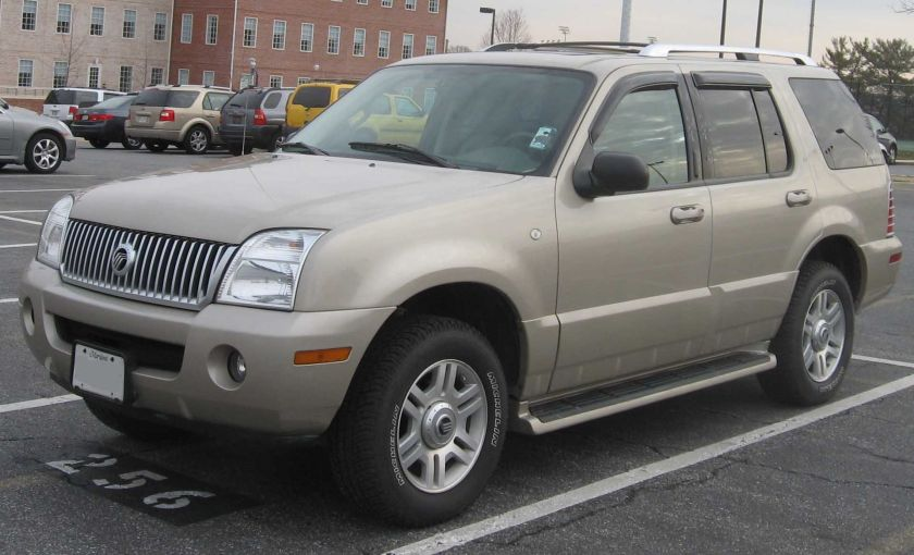 2002-2005 Mercury Mountaineer