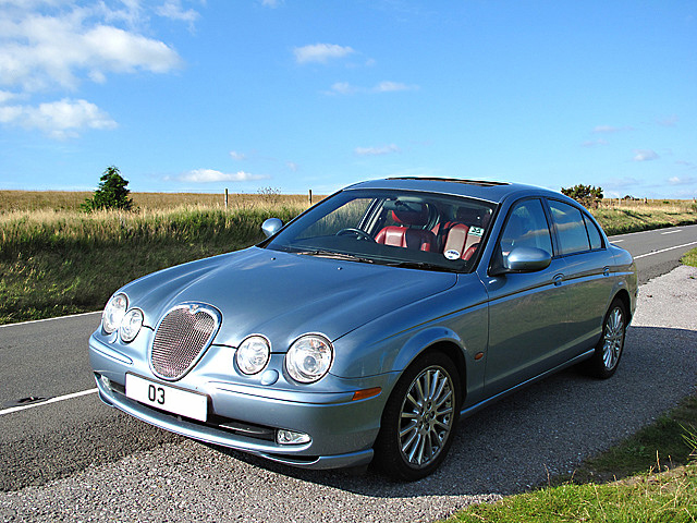 2003 Jaguar S-Type Sport Plus (UK)