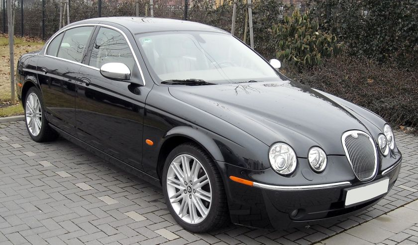 2004-2007 Jaguar S-Type front