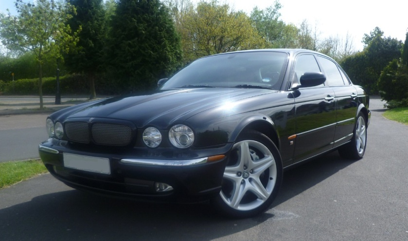 2004 Jaguar XJR X350 4.2 litre Supercharged, Black