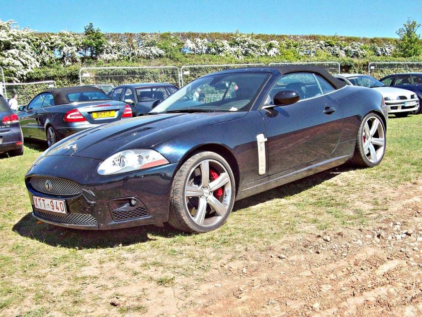 2006-on Jaguar XKR Engine 5000cc V8 Supercharged