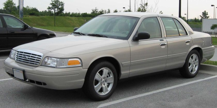 2007 Ford Crown Victoria LX Sport, the Ford Crown Victoria version of the Marauder sold from 2003-2007