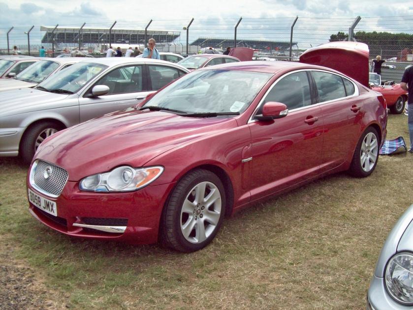 2008 Jaguar XF Engine 2720 V6 Diesel