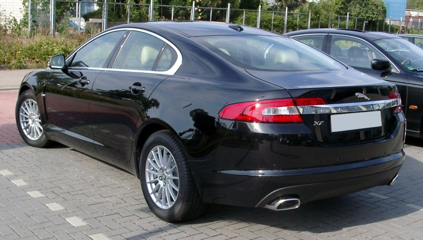 2008 Jaguar XF rear