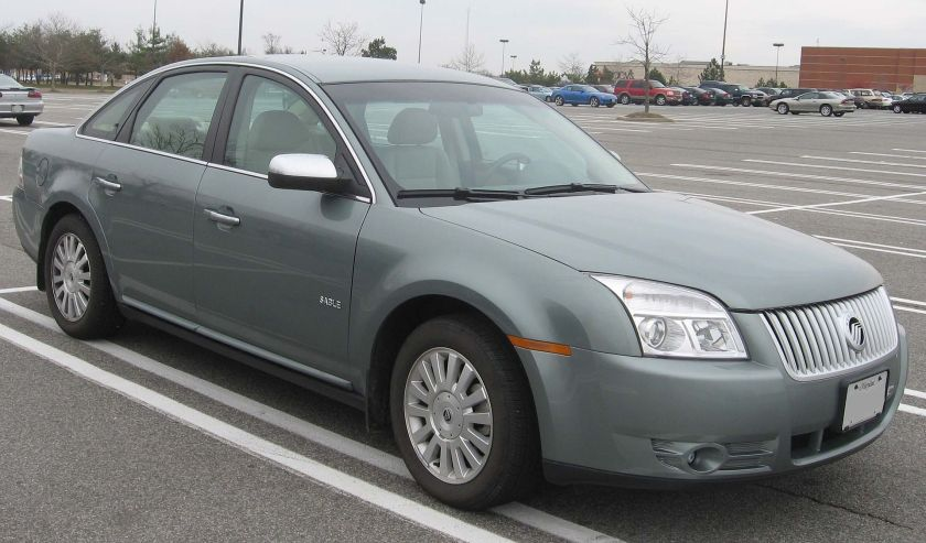 2008 Mercury Sable photographed in Waldorf, Maryland, USA