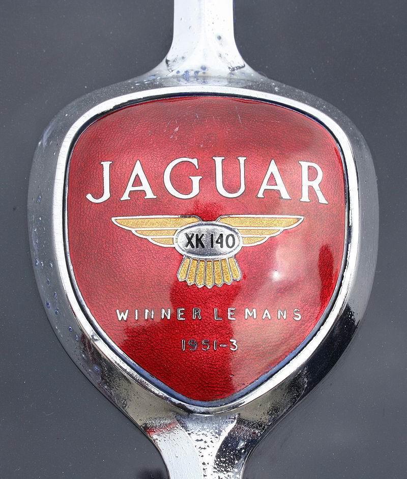 2013 1997 1974 1951 Emblem Jaguar XK 140