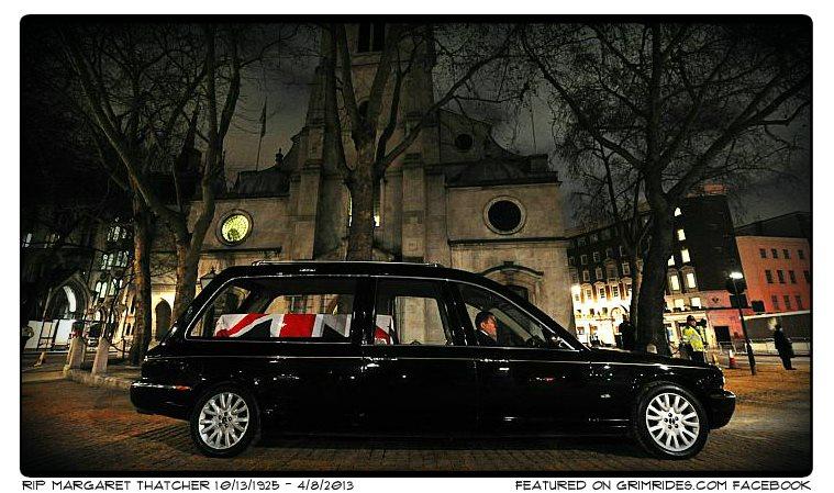 2013 Jaguar XJ hearse