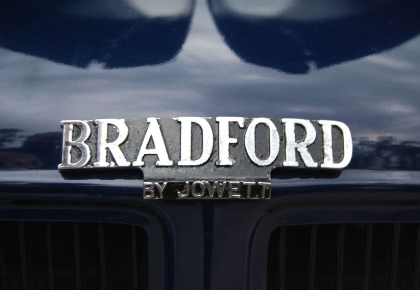 Bradford Badge Blue
