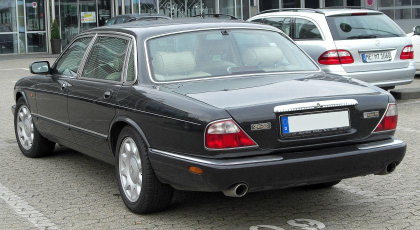 Daimler Super V8 (X308) rear