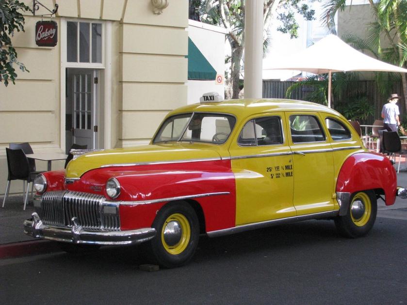 De Soto Taxicab 25