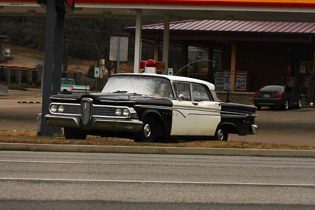 Edsel Police Car