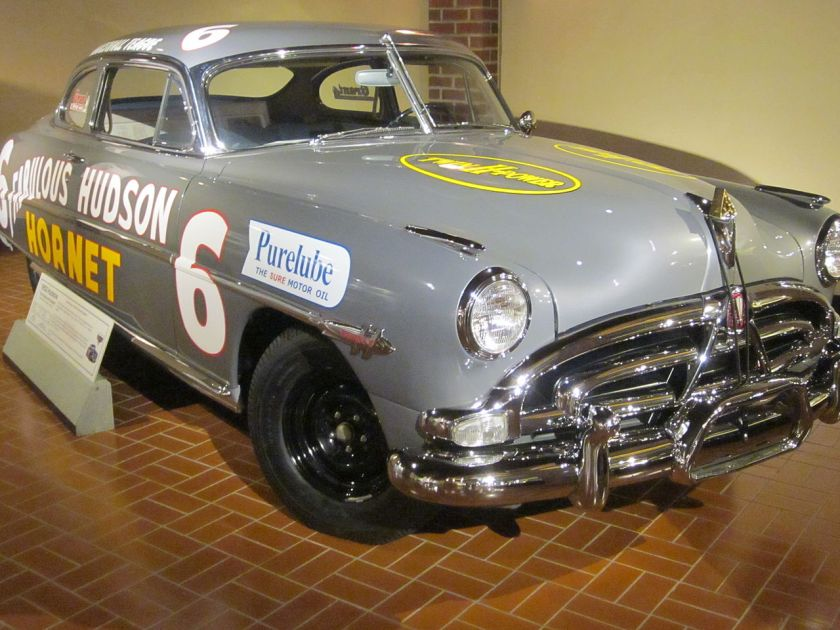 Hudson Hornet race car