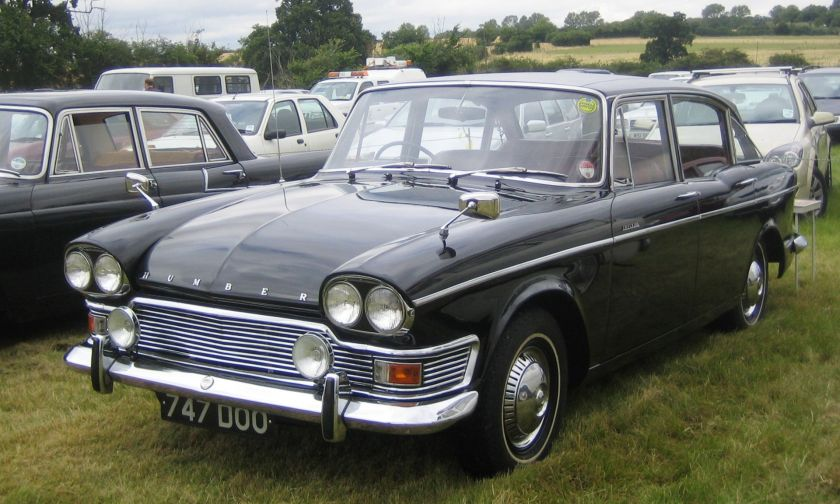 Humber Imperial from and in Essex