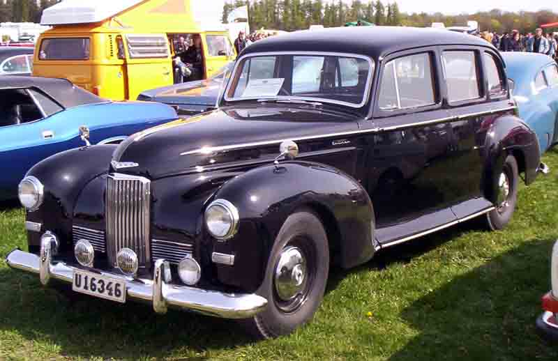 Humber Pullman post war