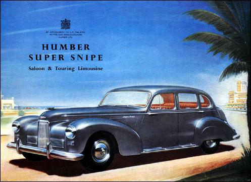 Humber Super Snipe de luxe