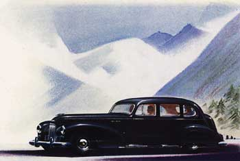 Humber Super Snipe Touring Limousine