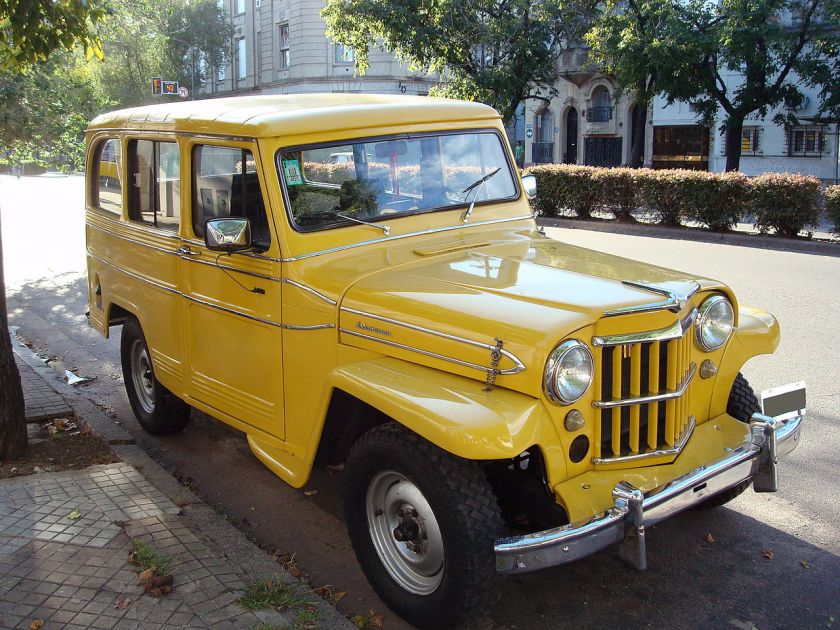 IKA_Estanciera Willys Jeep Wagon