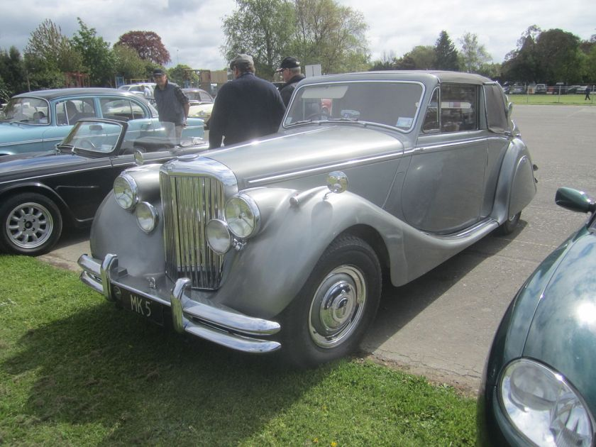 Jaguar Mark V drophead coupé