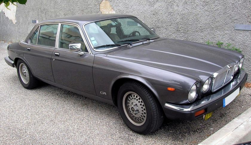 Jaguar Sovereign 4.2 in France