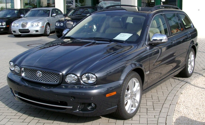 Jaguar X-Type estate (2008 facelift)