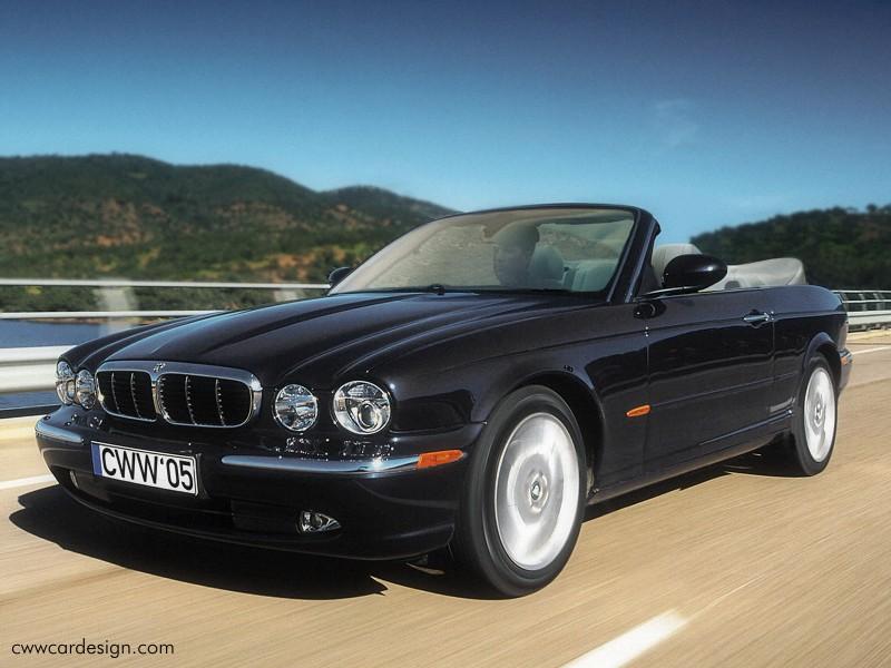 Jaguar XJ Convertible.