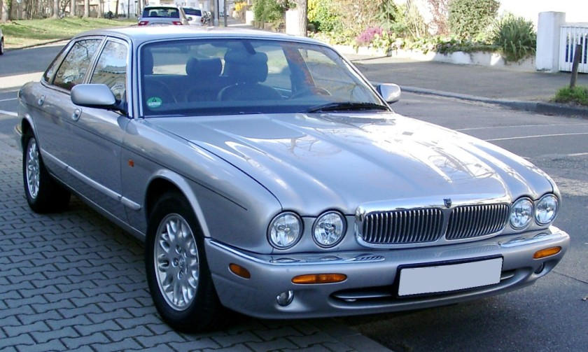 Jaguar XJ308 sport variant