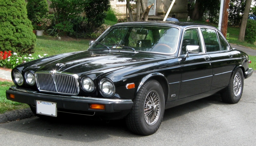 Jaguar XJ6 photographed in Fairfax, Virginia, USA.