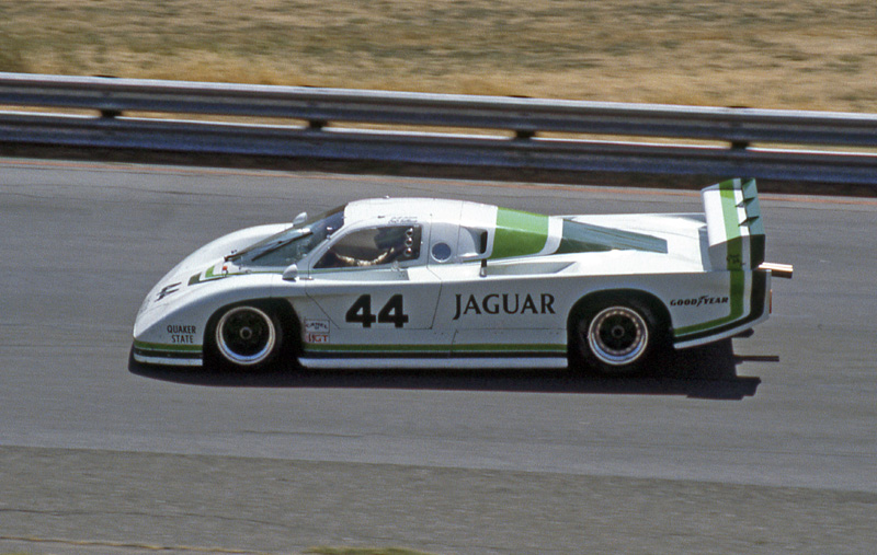 Jaguar XJR-5 at Sears Point in 1983