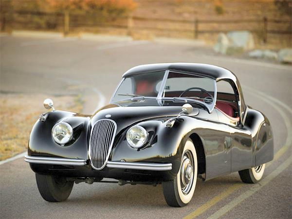 Jaguar XK 120 Roadster with RARE hardtop