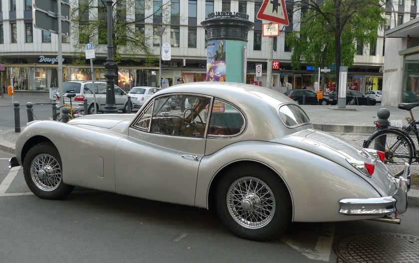 Jaguar XK140 fixed head coupé