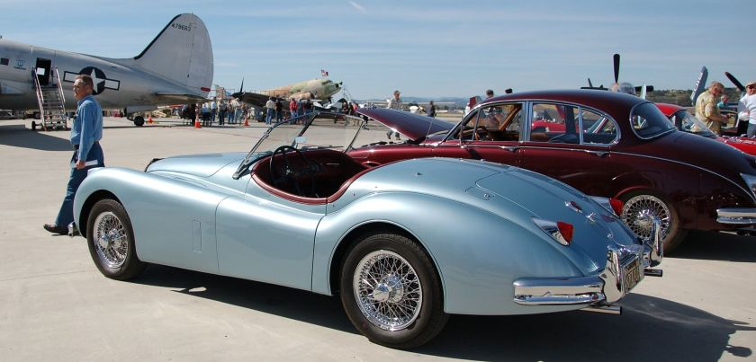 Jaguar XK140(cropped)