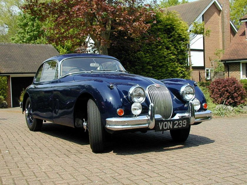 Jaguar XK150 Fixed Head Coupé