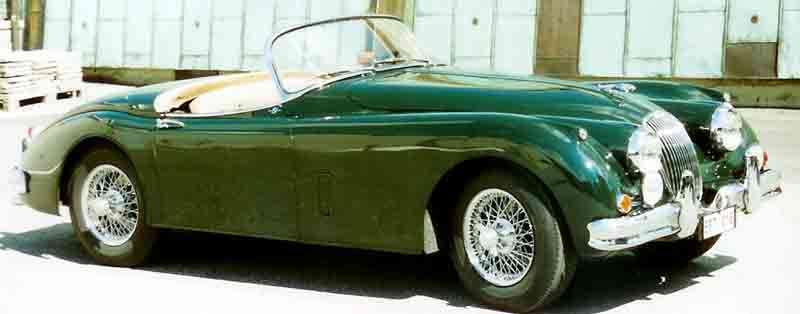 Jaguar XK150 Roadster (Open Two-Seater)