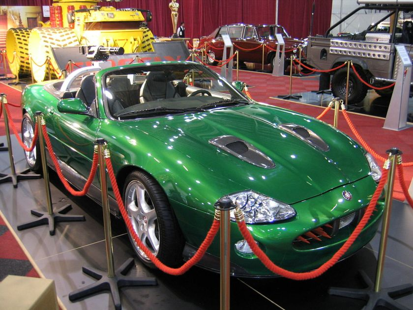 Jaguar XKR from Bond in Die another day
