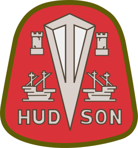 logo for Hudson Motor Car Company.