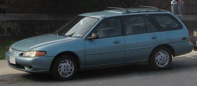Mercury Tracer wagon a