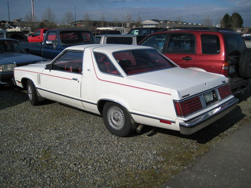 Mercury Zephyr Z7, showing rear roofline