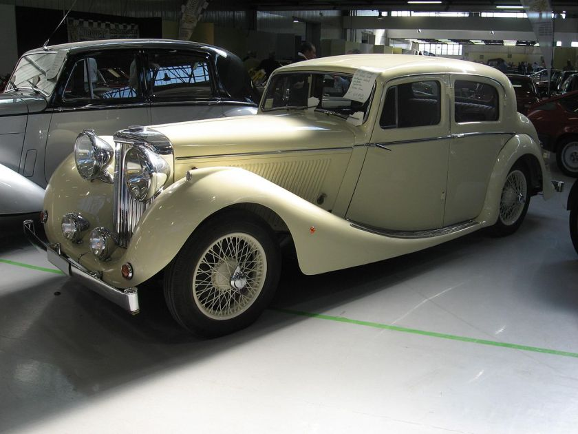 SS Jaguar 3,5l sports saloon