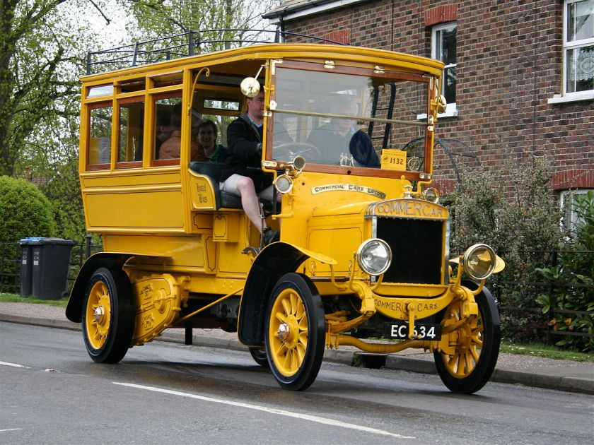 1909 Commer Car (EC 634)