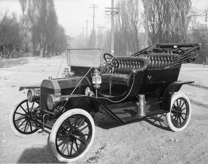 1910 Ford Model T, photographed in Salt Lake City