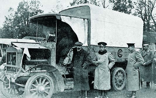 1912 Commer WP2W