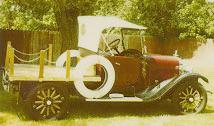 1923 Dodge flatbed pickup