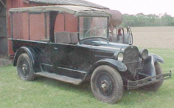1924 Dodge screenside