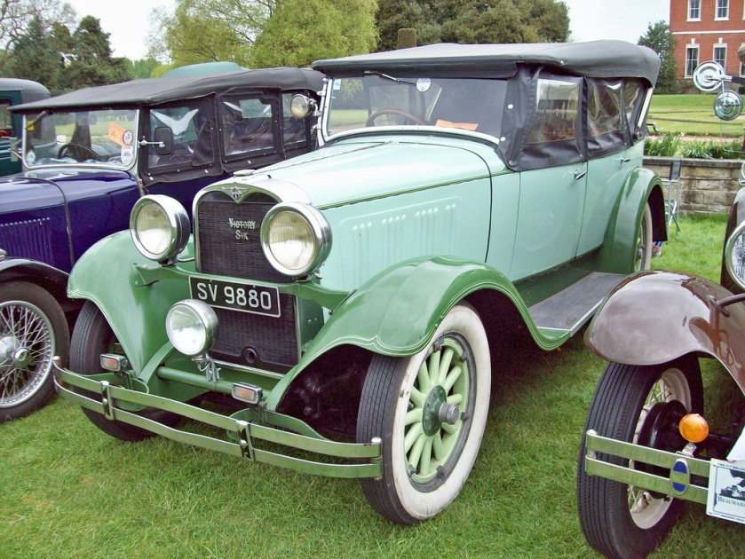 1928-29 Dodge Victory Six Engine 208 Ci 6 cyld 58bhp
