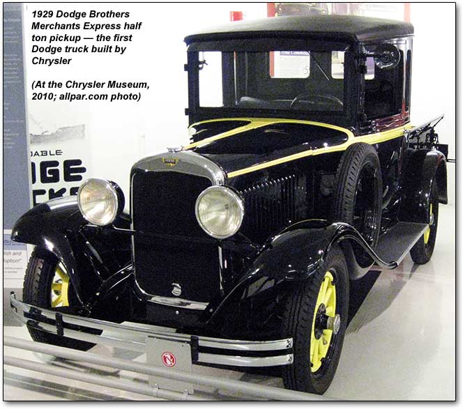 1929-dodge-brothers 0,5 T pick-up truck
