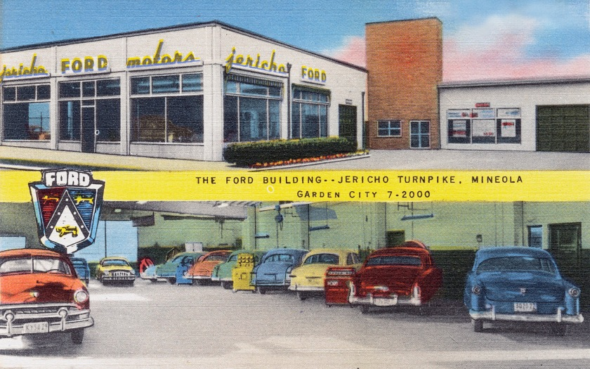1930-45 The_Ford_building_--_Jericho_Turnpike,_Mineola,_Garden_City