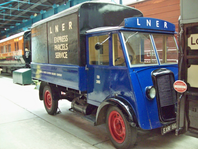 1930 Commer Parcel Van of the former London North Eastern Railway