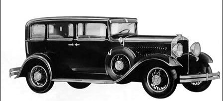 1930 Dodge eight sedan 4dr